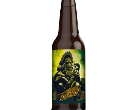 Black Soul. Cerveza artesanal de color azabache