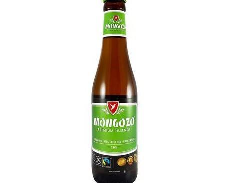 Cerveza Sin Gluten Mongozo. Cerveza muy ligera suave