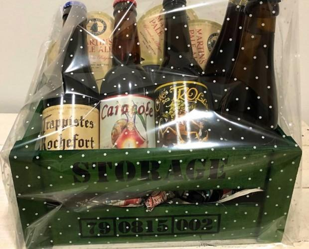 Pack de cervezas. Ideal para un regalo