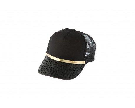 Gorra Línea. Elegante por su corte en metal color oro cobre. Presume de calidad y sencillez.