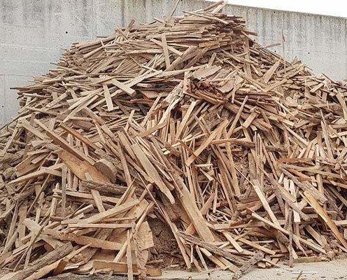 Biomasa de Madera. Es utilizada para calderas y generación eléctrica