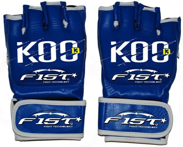 Guantes Deportivos.Guantillas MMA Personalizadas para el evento K.O.C