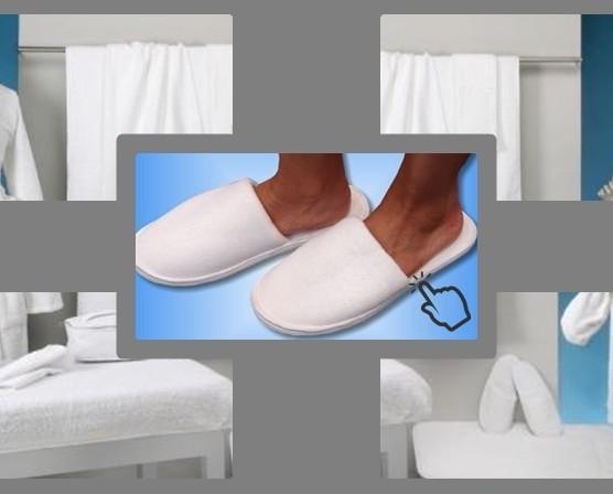 Toallas blancas. Toallas y albornoces para centros de estética