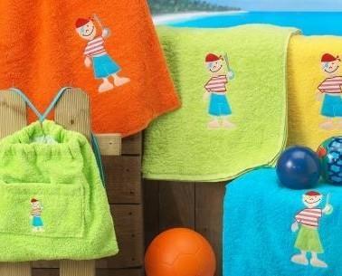 Toallas infantiles bordadas. Una delicia para los sentidos