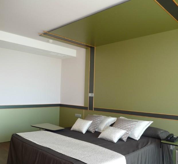 Decoración para hostelería. Decoración de habitación de hotel