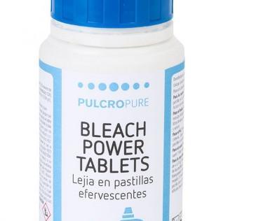 Lejía en pastilla. Alto poder higienizante y fácil dosificación