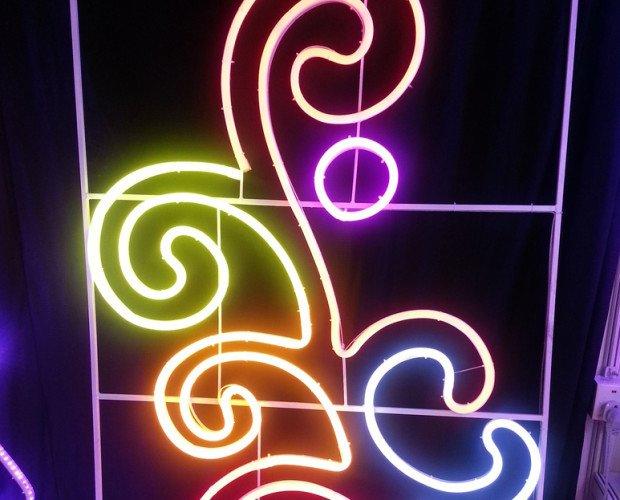 Rotulación Luminosa.Ayuntamientos y eventos festivos