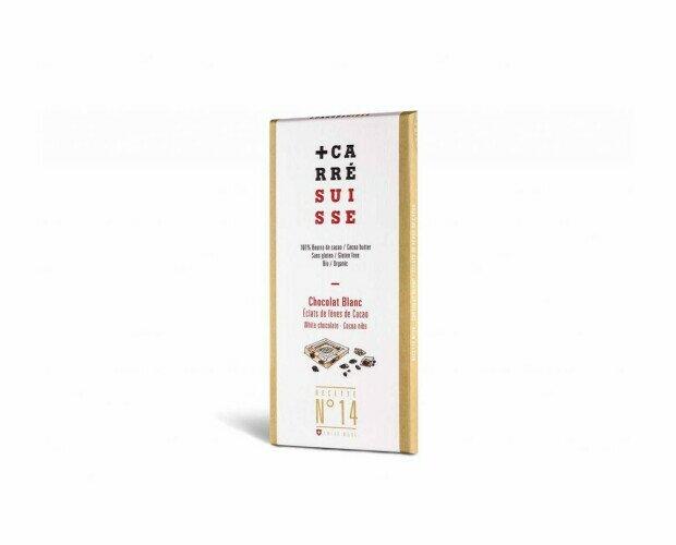Caarré Suisse Blanco. Chocolate blanco gourmet edición especial