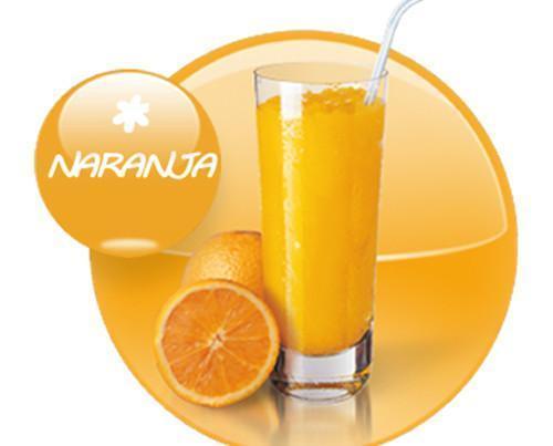 Naranja. Realizado con naranjas de primera calidad y 100% naturales
