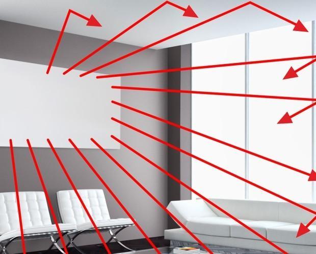 Infrarrojos. Panel de calefacción de infrarrojos, Calor natural