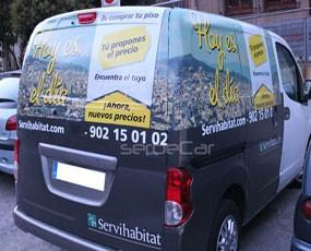 Publicidad Exterior.SerbeCar _Furgonetas para publicidad