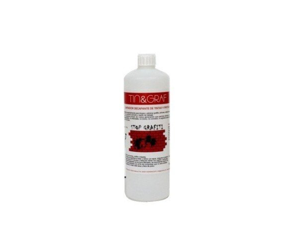 Limpiador de Grafitis. Está diseñado para eliminar pinturas, tintas, grafitis en diferentes materias y superficies