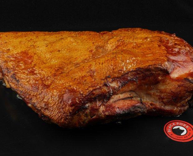 Costillar Black Pork. Costillar una vez sacado del horno despues de 30 minutos a 250°C