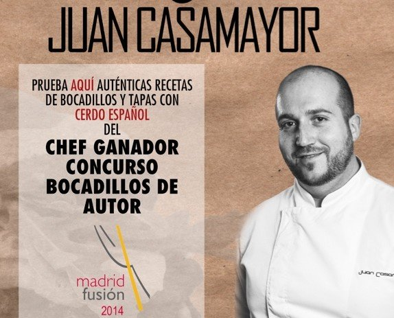 Cartel. Chef Casamayor