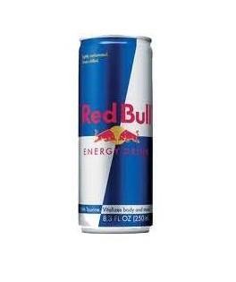 Bebidas energizantes. Marcas Red Bull, Pussy y Shot Enery
