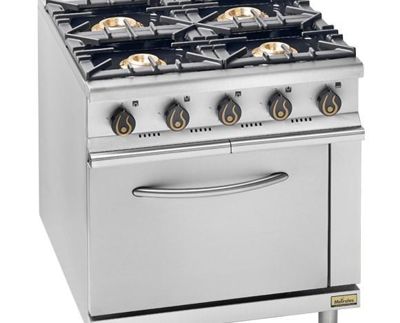 Cocina 4 fuegos. Cocina 4 fuegos de gas+ horno