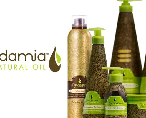 Macadamia Natural Oil. Productos de macadamia