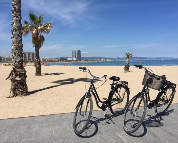 Alquiler de Bicicletas.Cesta, candado, mapa gratuitos