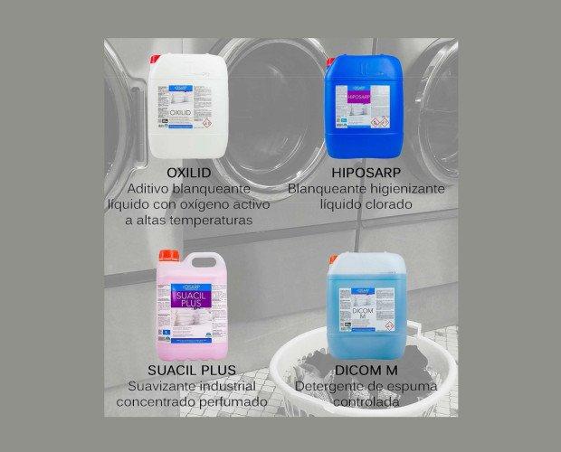 Detergentes Industriales para Ropa.Tenemos todo lo que necesitas para un servicio de lavado completo