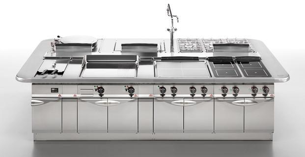Cocinas industriales. Diseñadas según las necesidades del cliente.