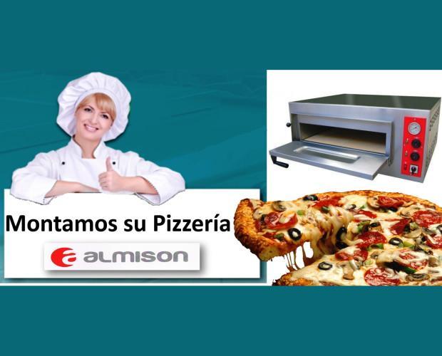 Hornos Industriales. Hornos de Pizza. Montamos su pizzerías
