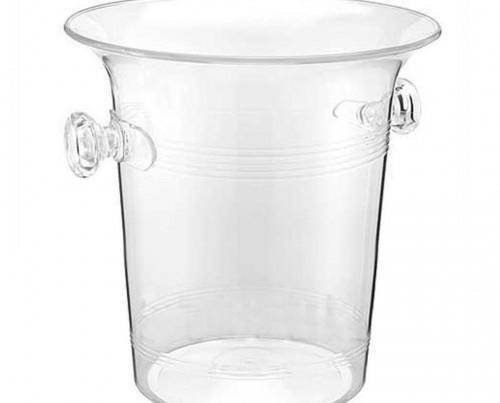 Cubitera de plástico. Medida: 20,5X20,5X21,3 CM