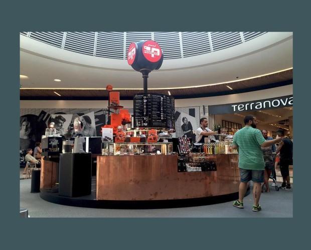 Caffè Pascucci Shop. Corners en centro comerciales