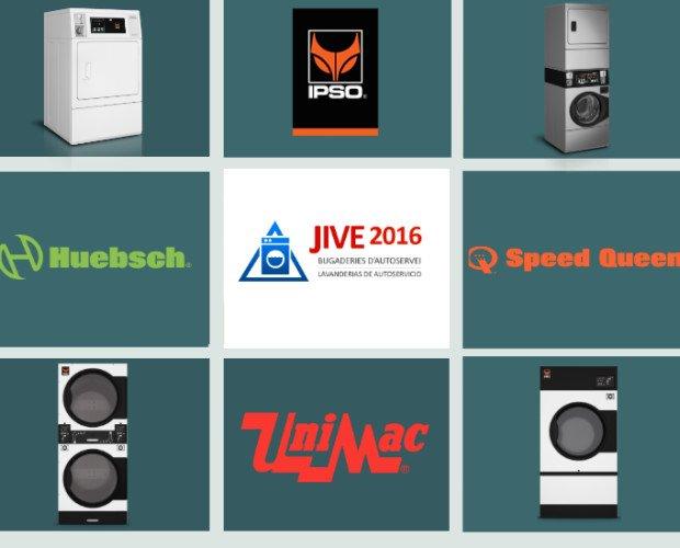 MAQUINARIA JIVE 2016. Lavadoras y secadoras JIVE 2016  IPSO