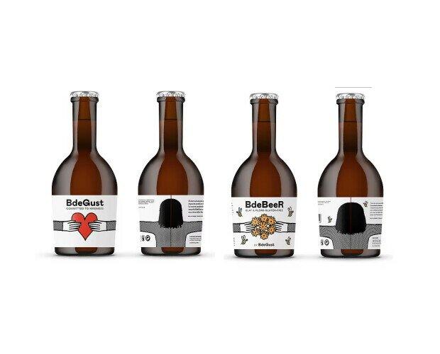 BDEGUST - BDEBEER. Cerveza vegana, de KM-0. Refrescante y equilibrada.