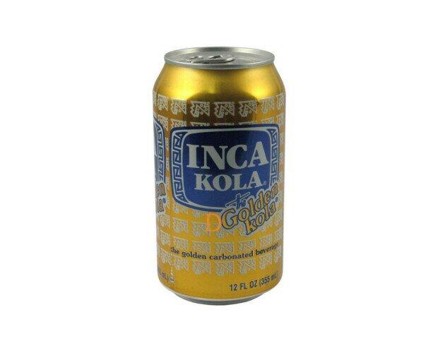 Inka Kola. Es una bebida gaseosa originaria del Perú