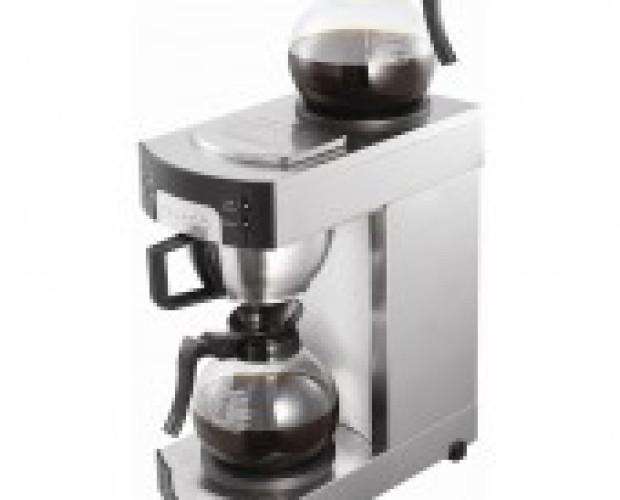 Cafeteras. De filtro con llenado manual