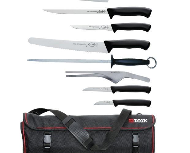 Juego de cuchillos. Cuchillos profesionales