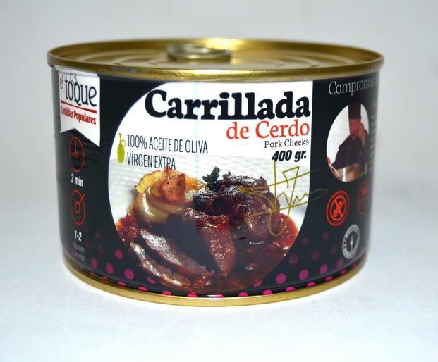 Conservas de Carne.Sin conservantes, sin Gluten, sin Grasas Trans