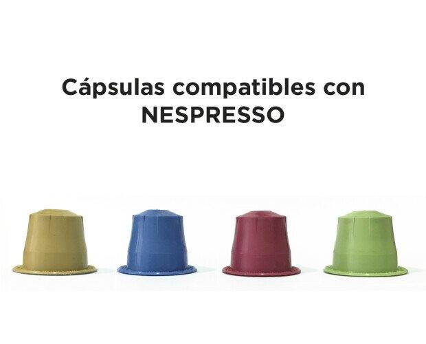 Café compatible . Cápsulas compatibles con Nespresso