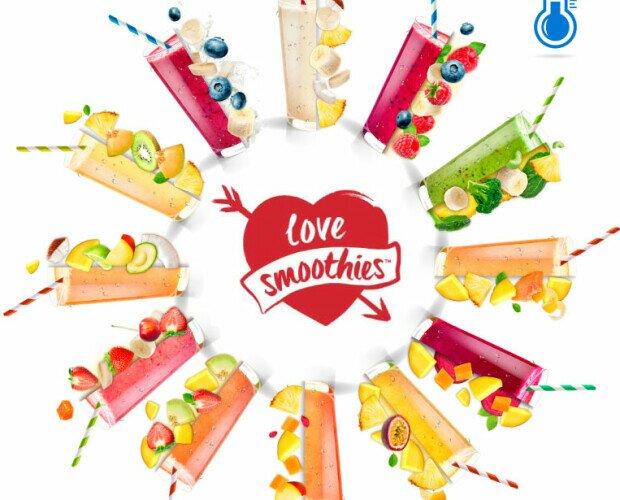 Smoothies. Amplia variedad de smoothies congelados IQF