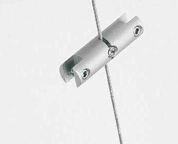 Pinza para cable tensor. Consigue la sujeción en vertical de múltiples elementos
