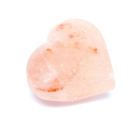 Barra de sal. En forma de corazón