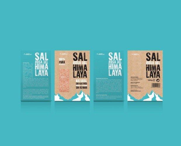 Sal del Himalaya. Esta es por lejos la sal más pura disponible en la Tierra