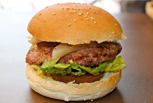 Pan de hamburguesa. Pan de hamburguesa y de perrito