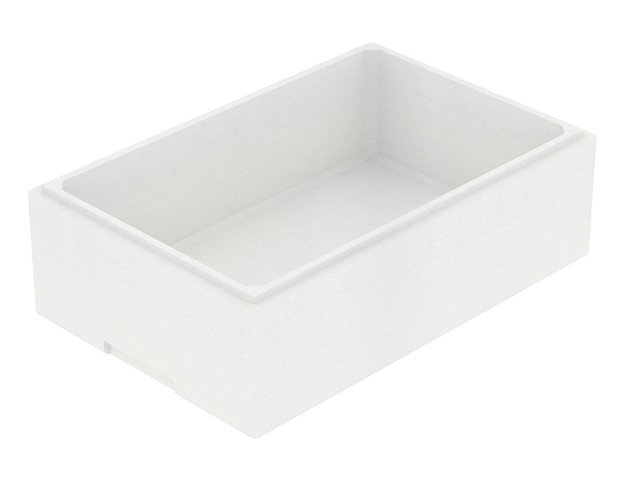 Caja rectangular mediana. Capacidad 16.0 Litros