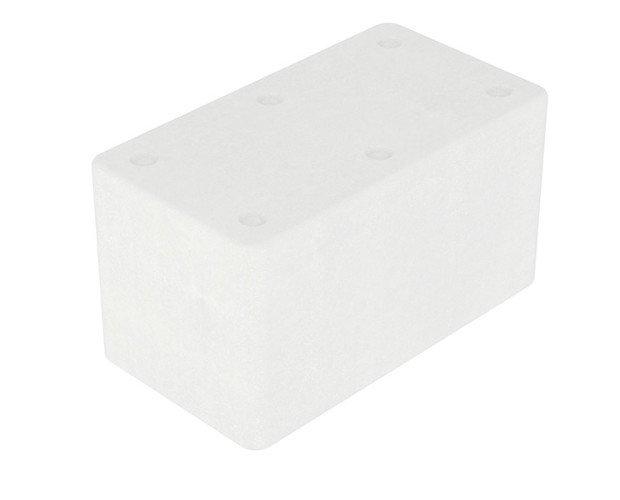 Caja rectangular Mediana. Capacidad 24.1 Litros