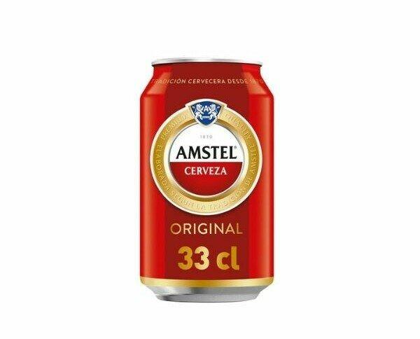 Amstel. Es una cerveza de cuerpo ligero y sabor refrescante