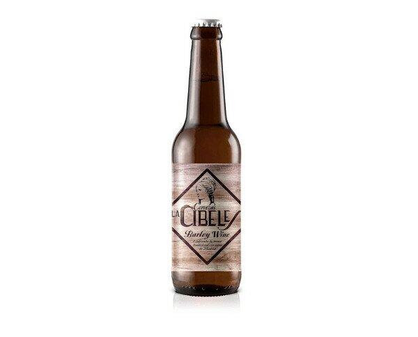 Cibeles Barley Wine. Está basada en un tipo de cerveza intenso gracias a su gran cantidad de malta