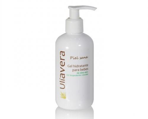 Productos para Cuidado del Bebé. Cremas Hidratantes para Bebés. De aloe vera, pH para bebés, 250 ml