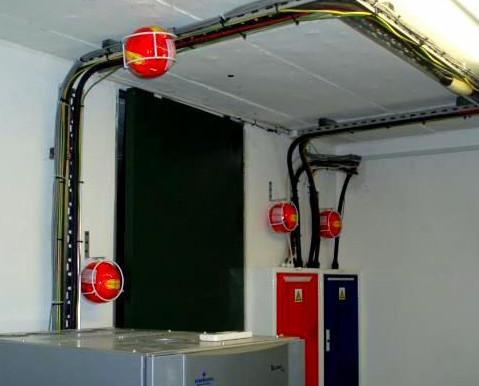 Instalacion protegida. Instalación protegida contra incendios