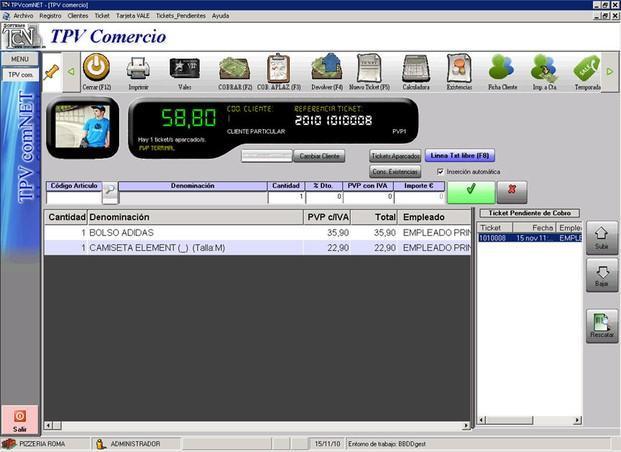Software Comercio. Software para comercio de punto de venta