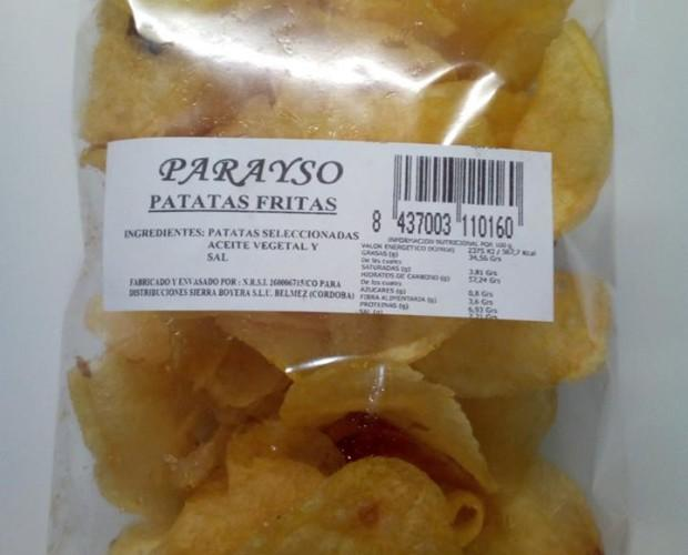 Patatas fritas. Patatas seleccionadas fritas en aceite vegetal
