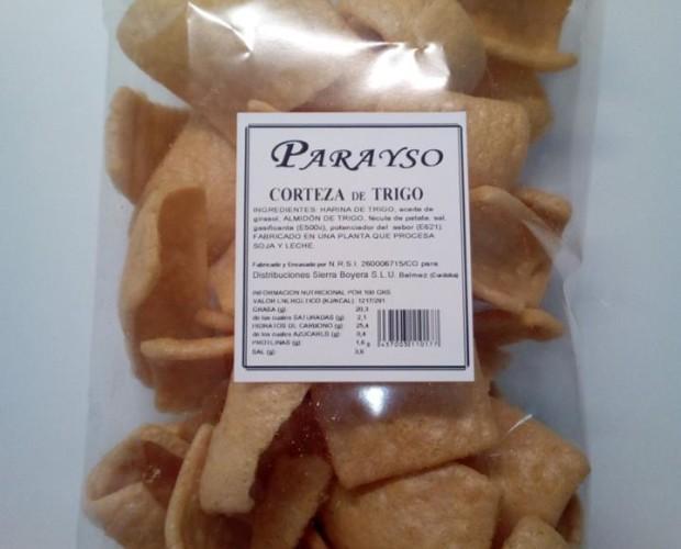 Corteza de trigo. Muy crocantes