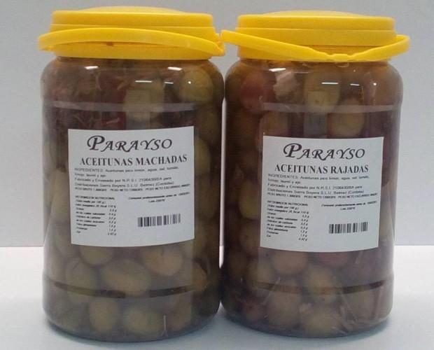 Aceitunas. Gran variedad de aceitunas
