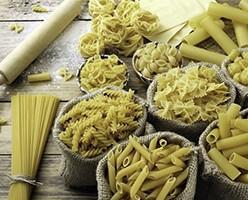 Pasta Seca. Larga y corta elaboradas con sémola de trigo duro de calidad superior.